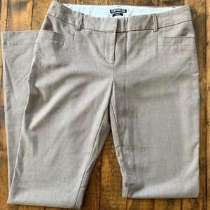Express Columnist Barely Boot Pants Tan Size 4R